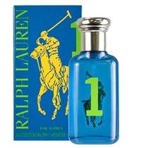 Ralph Lauren Polo Big Pony Blue #1 Edt Feminino - 50 Ml