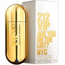 Perfume 212 Vip Fem 80ml 100% Original E Lacrado