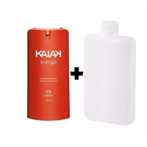 Natura Desodorante Spray Kaiak Energia. 100ml + Refil