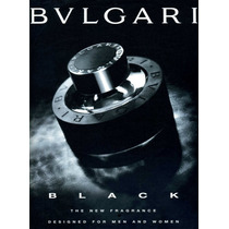 Perfume Bvlgari Black Decant / Amostra 5ml Original Unissex