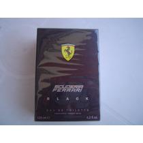 Perfume Ferrari Black 125ml Original E Lacrado ( Não Tester)