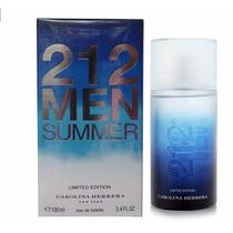 212 Men Summer - Novo - Lacrado - Original