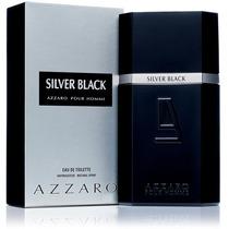 Perfume Azzaro Silver Black Masculino 100 Ml - Original