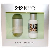 Kit Perfume 212 Carolina Herrera 100ml+200ml Loção Original