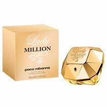 Perfume Lady Million Edp 80ml Feminino Tester 100% Original