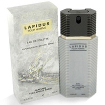 Perfume Lapidus Pour Homme 100ml - Original - Fotos Reais -