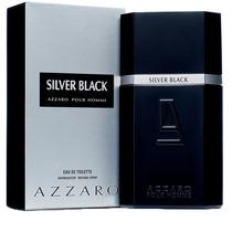 Perfume Azzaro Silver Black Masculino 100ml Eau De Toilette