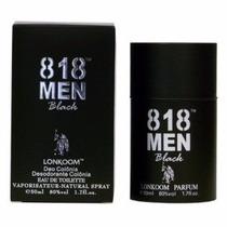 Perfume Lonkoom 818 Men Black - Inspiração Polo Black