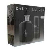 Perfume Kit Polo Black 125 Ml + Deo - Original E Lacrado -