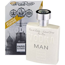 Perfume Importado Masculino Paris Elysees Vodka Man 100 Ml