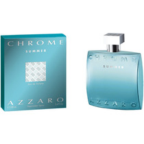 Perfume Azzaro Chrome Summer 100ml Importado Usa