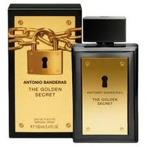 The Golden Secret Antonio Banderas Edt 100 Ml -100% Original