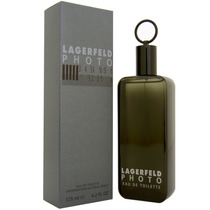Perfume Francês Masculino Photo By Lagerfeld 125ml Edt Novo!
