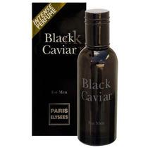 Perfume Black Caviar Masculino Paris Elysees- Nina Presentes