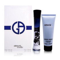Perfume Kit Armani Code Fem. 75ml + Body - Edp - Original