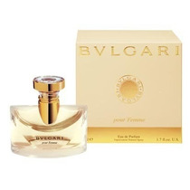 Perfume Bvlgari Pour Femme Eau De Parfum 100ml 100% Original