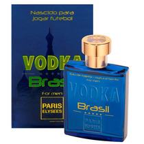 Perfume Vodka Brasil Azul 100 Ml Paris Elysees Original