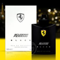 Perfume Ferrari Black Tester 125ml 100% Original Masculino