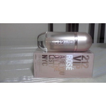 Perfume 212 Vip Rose Edp 80ml Carolina Herrera Original