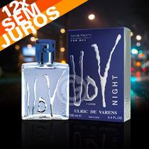 Perfume Udv Night For Men 100ml Ulric De Varens 100%original