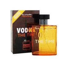 Perfume Masculino Paris Elysees Vodka The Time 100ml