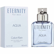 Perfume Masculino Eternity Aqua Calvin Klein 100ml Original.