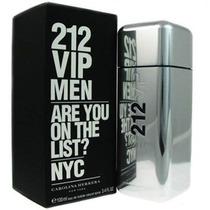 Perfume 212 Vip Masculino 100 Ml - Garantia 100 % Original