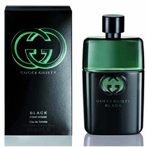 Perfume Gucci Guilty Black Masculino 90ml Eau De Toilette
