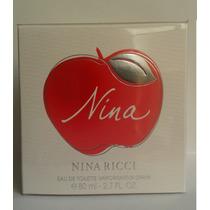 Perfume Nina Ricci Feminino Eau De Toilette 80ml