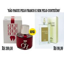 Traduções Gold /fragrância Importada Ch Red Carolina Herrera
