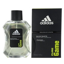 Perfume Adidas Pure Game Masculino 100ml Eau De Toilette