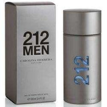 Perfume 212 Men 100ml - Carolina Herrera Original E Lacrado
