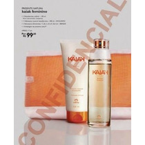 Kit Presente Natura Kaiak Feminino 100ml Natal 2014 :-)