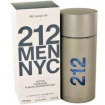 Perfume 212 Nyc Men 100ml Carolina Herrera Original (tester)