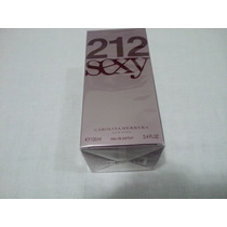 Perfume 212 Sexy Feminino 100 Ml - Original E Lacrado -