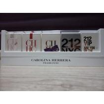 Kit Com 5 Miniaturas De Perfumes Carolina Herrera