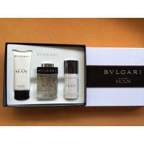 Kit Perfume Bulgari Man.