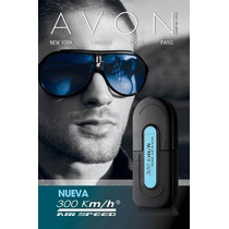 Avon 300km/h Air Speed Colônia Desodorante 100ml