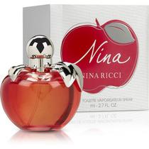 Perfume Nina Ricci Feminino Eau De Toilette 80ml Lacrado