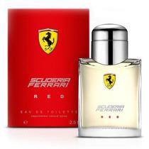 Perfume Scuderia Red Ferrari Edt Masculino 125 Ml