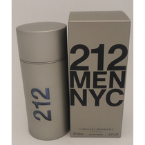 Perfume 212 Men Nyc Carolina Herrera Original Lacrado