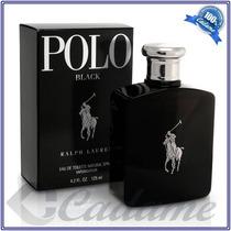 Perfume Polo Ralph Lauren Black Edt 125 Ml Original Lacrado