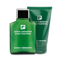 Kit Paco Rabanne Pour Homme 100ml + Shower Gel 100ml