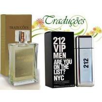 Perfumes 212 Vip Men Tradução Hinode Em 12x + Frete Grátis