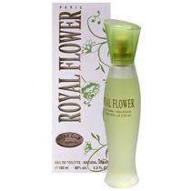 Perfume Royal Flower Parys Elysees 100 Ml + Porta Perfume