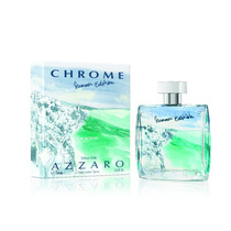 Azzaro Chrome Summer Edition Masc. Eau De Toilette 100ml
