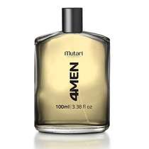 Loção 4men - Mutari Cosméticos - Perfume Amadeirado.