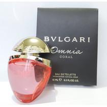 Perfume Miniatura Bvlgari Omnia Coral 15 Ml Spray Feminina