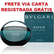 Bulgari Aqva Pour Homme Decant Amostra 2,5ml Frete Grátis