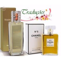 Hinode Traduções Gold 5 = Chanel Nº 5 Perfume 100ml